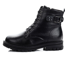 Martin Boots Casual-Shoes Winter Woman New-Fashion Rivet Thick-Bottom British Autumn
