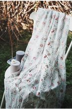 125см*50cmLace вышивка сетчатая ткань высокая-класс поделки занавес скатерть высокая-конец одежда трехмерная эластичная юбка