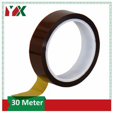 High Temperature Resistant Tape Gold BGA Tape Thermal Heat Insulation Tape for 3D Printing Board Protection 30M