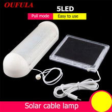OUFULA Solar Outdoor Lights Split-Type Cable Tent Camping Emergency
