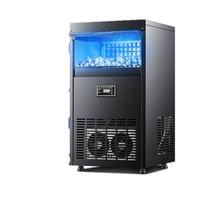 Máquina para hacer hielo comercial, tienda de té de la leche, 25 / 45 / 70/95kg, máquina automática de hielo pequeña de gran capacidad