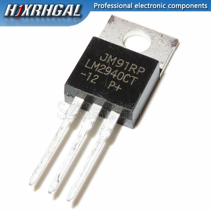 1PCS LM2940CT-12 LM2940CT TO220 TO-220 LM2940-12 image