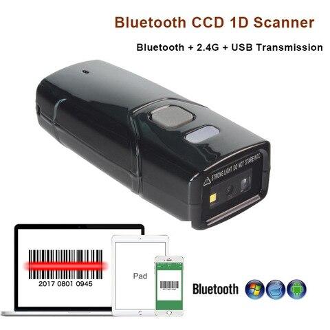 bluetooth 1d ccd scanner de codigo