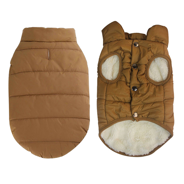Фото winter pet jacket coat clothes for dogs winter clothing warm цена
