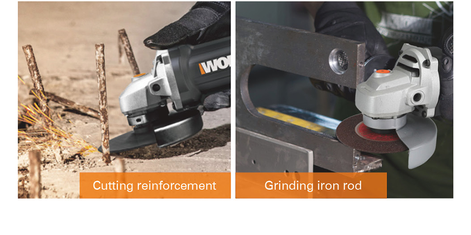 WORX Cutting reinforcement
