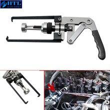 Compressor de mola de válvula aérea ohv/ohc/chv motor selo keeper ferramenta remoção kit