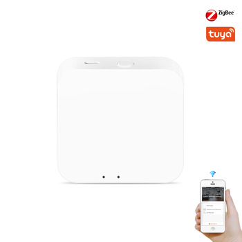 Tuya Zigbee 3.0 Hub Gaterway Wifi Smart Home pont télécommande sans fil