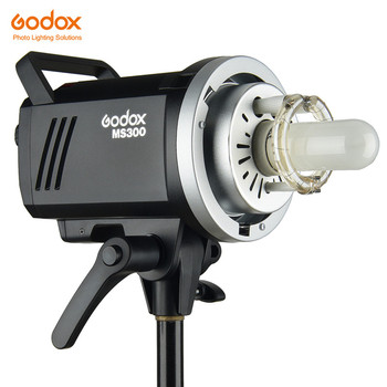Godox MS200 200W or MS300 300W 2.4G Built-in Wireless Receiver Lightweight Compact and Durable Bowens Mount Studio Flash