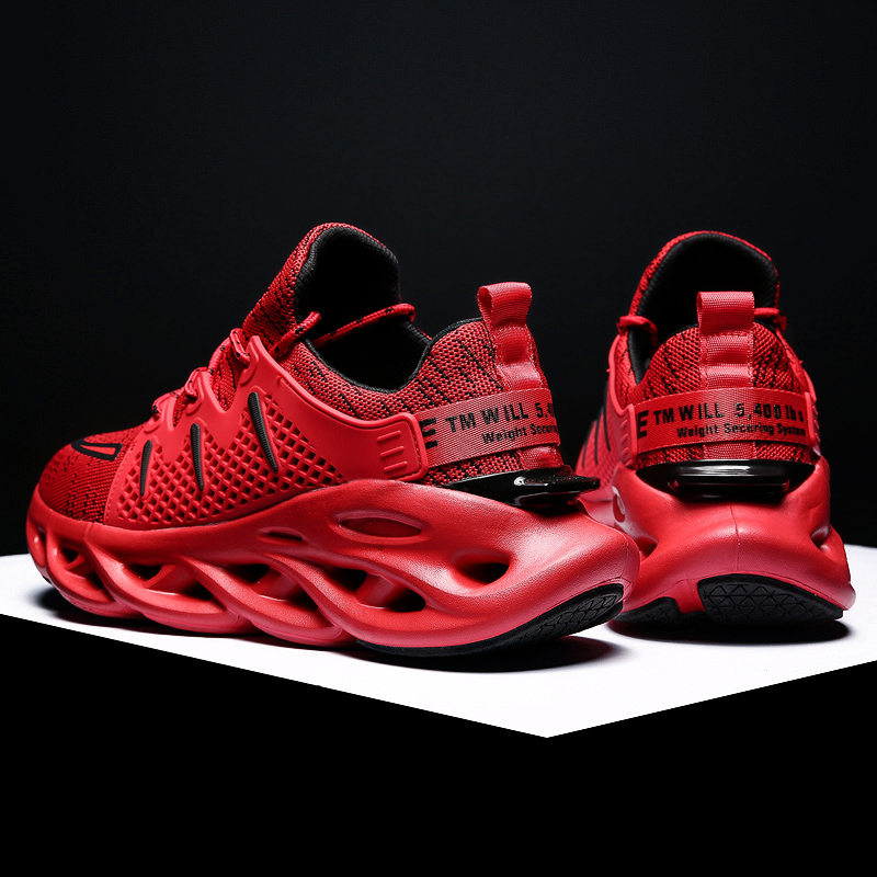 Men Sneakers Sport Shoes Lightweight Air Mesh Run Shoes 39-46 Male Thick Sole Comfortable Casual Shoes Boy scarpe uomo sportive