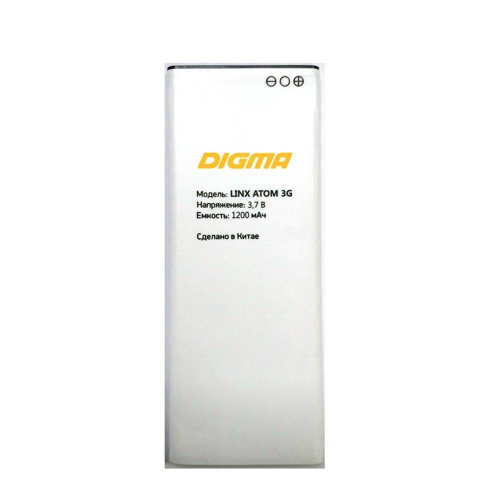 Новый Сменный аккумулятор LINX ATOM 3G для Digma ATOM 3G мобильный телефон аккумулятор + код отслеживания Аккумуляторы для мобильных телефонов    АлиЭкспресс