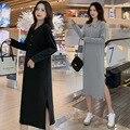 Envsoll платье для беременных 2019 корейская Осенняя свободная одежда средней длины для беременных женщин платье Vestidos De Maternidad