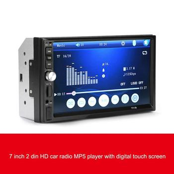 Car Radio 7-inch Large Screen with Stereo Fm Radio Bluetooth Mp5 Player Rear View Camera 7012B image