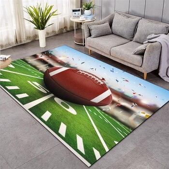 baseball Green Football carpet kids room soccer rug field parlor bedroom living room floor mats children large rugs home mat 003 1