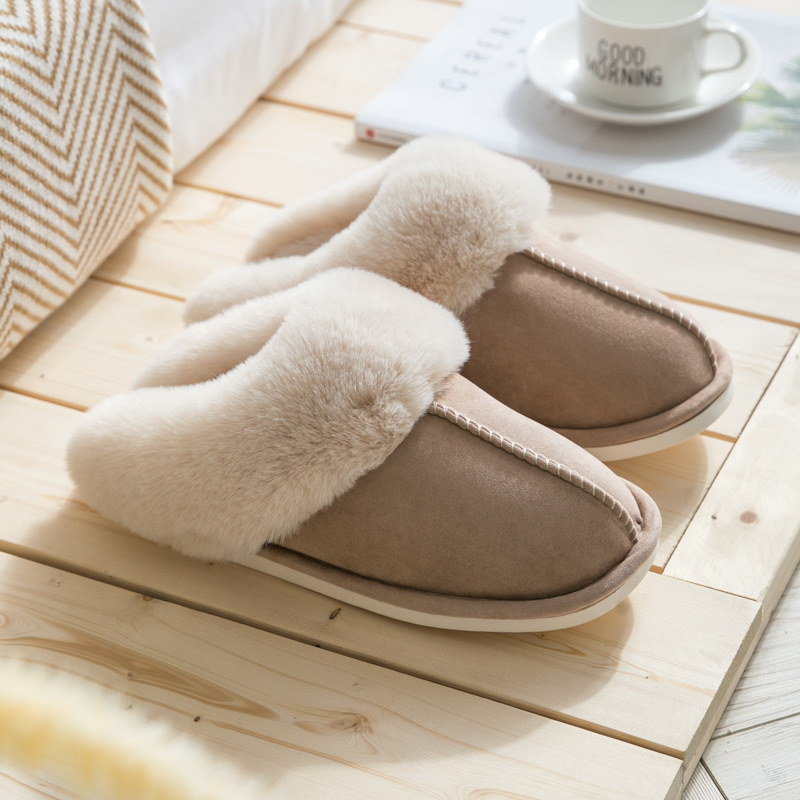 2019 Fashion Women Wintere Slippers 5 Style Indoor Bedroom Lovers Couples  Shoes  Fashion Warm Shoes  Flat Flat Non-slip Slipper