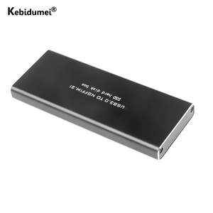 Image 1 - 5 6.0gbps NGFF M.2 إلى USB 3.0 SSD الضميمة محول تخزين حالة مع UASP تنطبق على 2230 / 2242 / 2260 / 2280 مللي متر