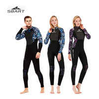 Sbart 3mm Full Body Wetsuit Neoprene Couple Spearfishing Surf Diving Suit Scuba Dive One piece Sun Protection Thick Wetsuits