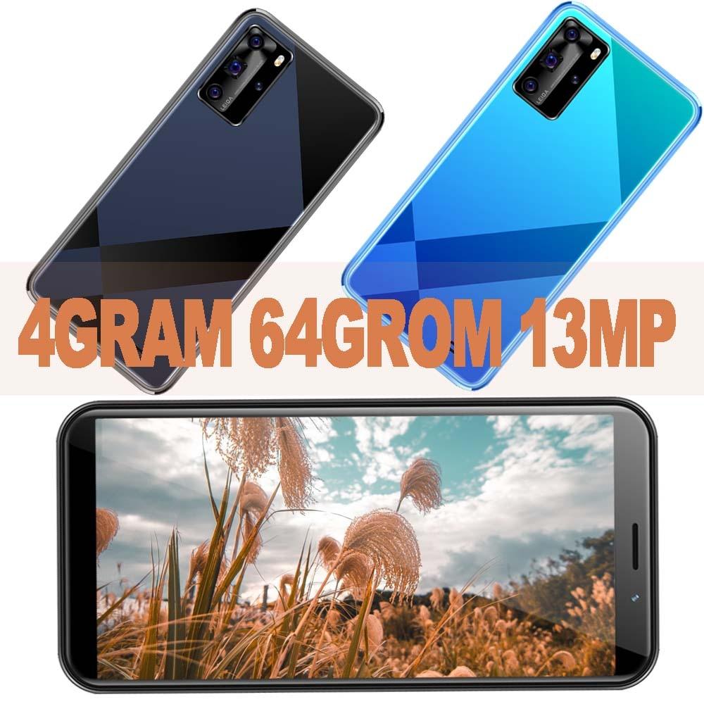 Новые 4 Гб ОЗУ 64 Гб ПЗУ Wi-Fi смартфоны 5i Pro 5,5 дюймов 13MP HD камера распознавание лица разблокированные Android Мобильные телефоны Celulares 2SIM IPS