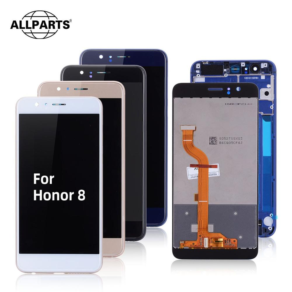 Display For Huawei Honor 8 LCD Touch Screen Repair With Frame For Honor 8 LCD Display Original 5.2''Frd-L09 FRD-L19