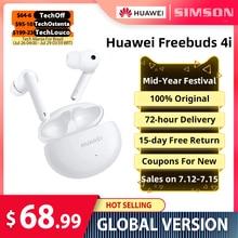 HUAWEI FreeBuds 4i TWS Drahtlose ANC Kopfhörer Reinen klang qualität Drahtlose bluetooth Kopfhörer Lange batterie lebensdauer original