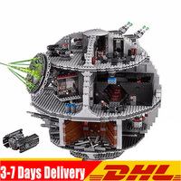 IN Stock DHL Star Wars New Force Waken UCS Death Star Educational Building Blocks Bricks Toys Boy Toys Compatible 05063 75159