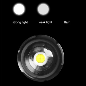 Image 5 - Usb זום לפיד פנס Led חדש 2*18650 או 26650 סוללה נטענת הלם עמיד, קשה אור, הגנה עצמית עוצמה