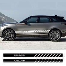 Für Land Rover Discovery 3 4 2 Freelander Evoque Velar Autogiography SVR Auto Zubehör 2PCS Auto Tür Seite Rock PVC Aufkleber
