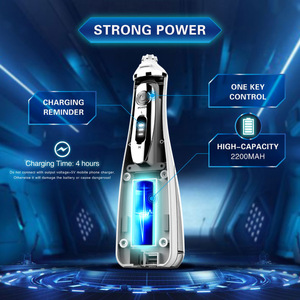 Image 3 - Portable Oral Irrigator Cordless Irrigators Rechargeable Battery Water Flosser With Travel Case Teeth Pick Dental Tooth Cleaner