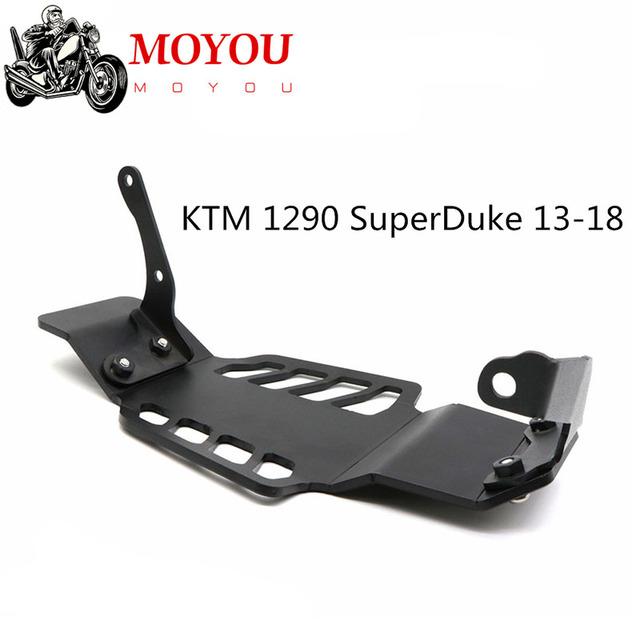 Dla KTM 1290 SuperDuke GT R 2013-2018 aluminiowa zmodyfikowana motocyklowa głowica cylindrów osłona silnika podwozia tanie i dobre opinie Gekong CN (pochodzenie) 0inch Gekong-0801 Aluminum Obejmuje listew ozdobnych 0 15kg
