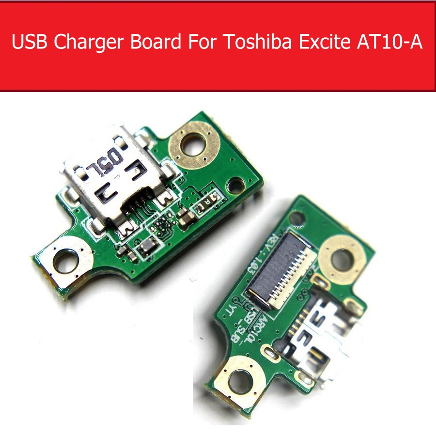USB Charging Connector Port Dock Mic Microphone Board Flex Cable Board For TOSHIBA EXCITE AT10 AT10-A Flex Cable Repair Parts