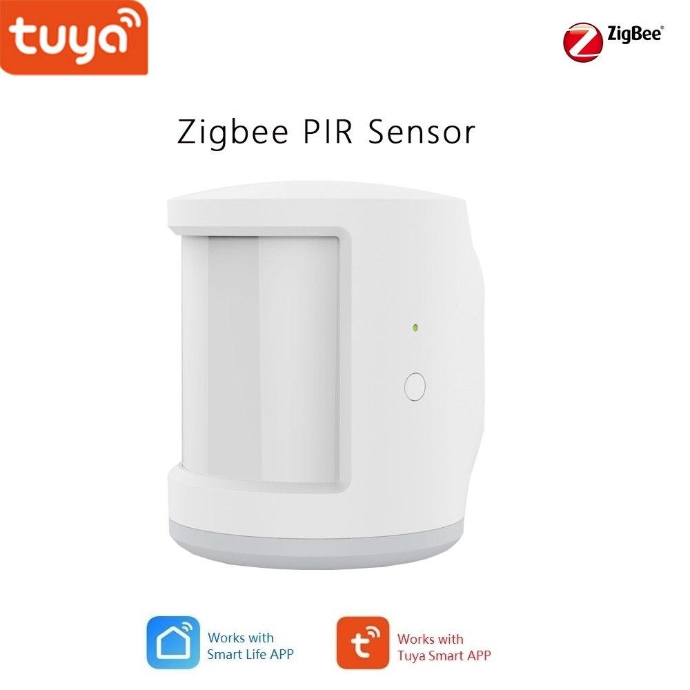 Tuya Smart Home Zigbee PIR Sensor ,Security Alarm Kits Works With Tuya Zigbee Hub, Compatialbe With Alexa,Google