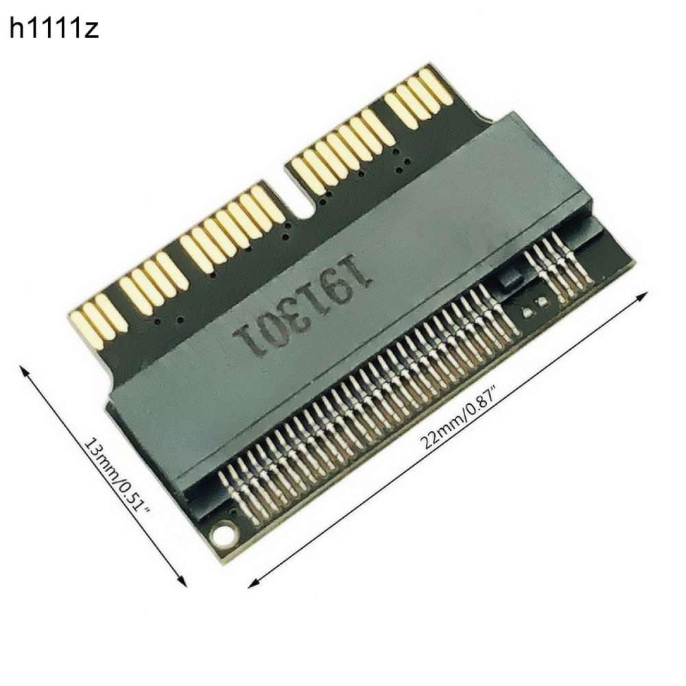 NVMe PCI Express PCIE 2013 2014 2015 To M.2 SSD Adapter Card For Macbook Air Pro A1398 A1502 A1465 A1466
