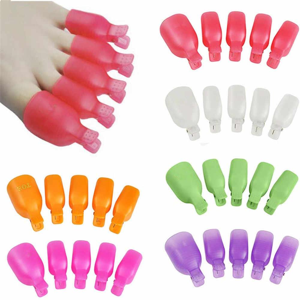 Giyilebilir tırnak akrilik sağanak tedavi seti UV jel cila sökücü parmak kap manikür aracı tırnak sanat aracı çıkarma jeli vernik