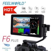 HDMI Monitor Video Touch-Screen 1920x1080-Camera Movie DSLR FEELWORLD F6-Plus Full-Hd