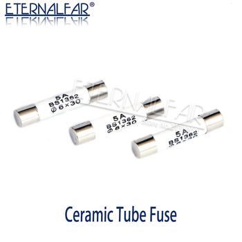 цена на BS1362 High Pressure smelt To break Ceramics Fuse RO58 6x30mm Fuse 0.5A 1A 2A 3A 4A 5A 8A 10A 13A 15A 16A 20A 25A 30A 500V 250V