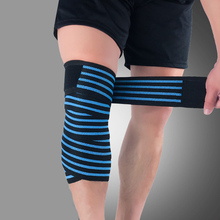 1 Pc Elastic Bandage Compression Knee Support Sports Strap Protector Bands Ankle Leg Elbow Wrist Calf Brace Safety 180cm