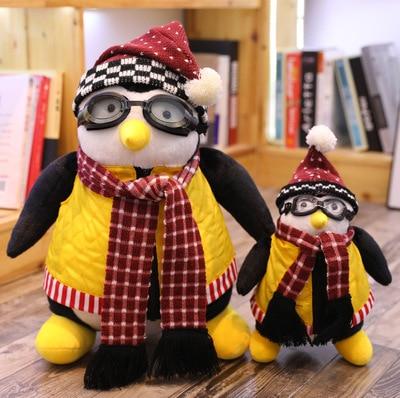 46/26CM Joeys Friend HUGSY Plush Penguin Stuffed Animals  Toy