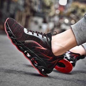 Image 3 - Sapatos masculinos de pouco peso antiderrapante confortáveis e respiráveis lac up sapatos masculinos tênis de basquete tenis feminino zapatos