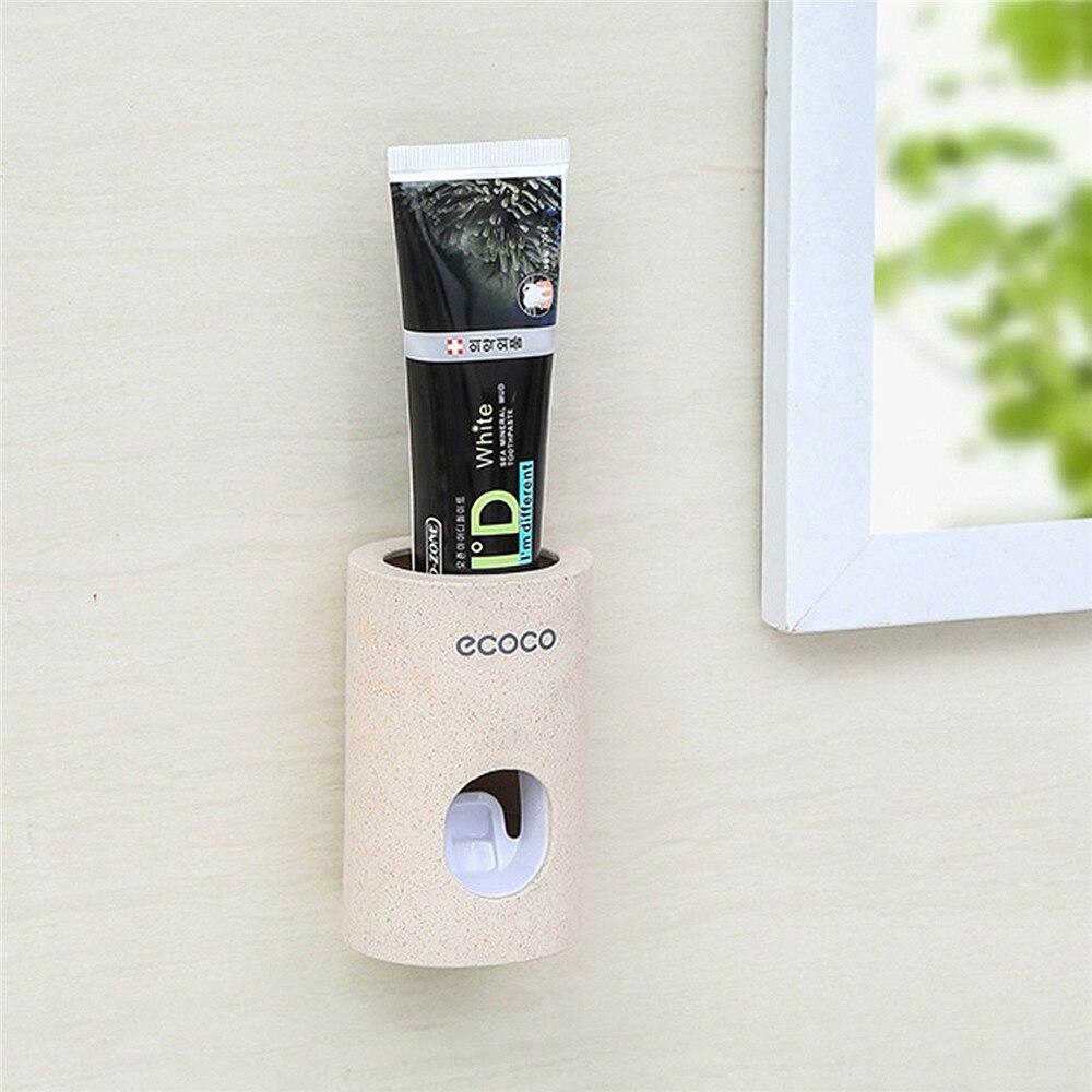 อัตโนมัติ Squeezer ยาสีฟันมือบีบออกอุปกรณ์ห้องน้ำเครื่องใช้ไฟฟ้า Sorting Organizer