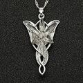 Arwen Evenstar ожерелье Elfstone Elessar Aragorn Galadriel Elves принцесса кубический цирконий камень подвеска ювелирные изделия для женщин оптовая продажа