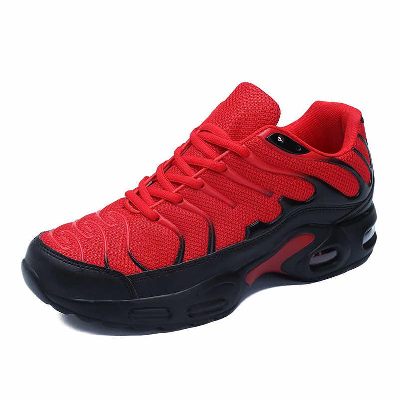 2020 zapatillas de correr para hombre, de malla, para correr, entrenamiento de gimnasia al aire libre, diseño de marca Max INS, tallas 39-47, zapatillas deportivas para hombre