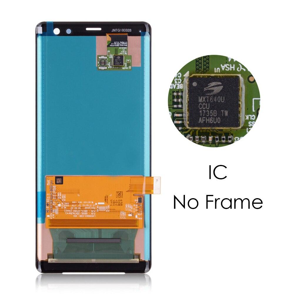 6.0 pouces pas de spot lumineux pour SONY Xperia XZ3 H9493 H8416 H9496 LCD écran tactile numériseur affichage Module moniteur panneau LCD #