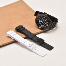 NewWatch Accessories 18mm watchband for CASIO MRW200H Casio MRW-200H Mens and Womens Sports Waterproof resin Watch Strap