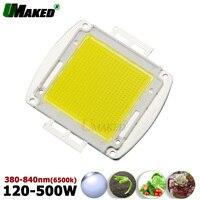 High Power led COB Full Spectrum 380 840nm CRI>95 Epistar 45mil Light chips 120W 150W 200W 300W 500W COB SMD Plant Grow lights
