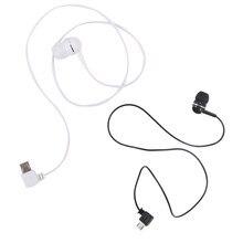 Отличное качество универсальный односторонний моно провод Micro USB 5 контактов порт стерео гарнитура в ухо Bluetooth вспомогательные наушники