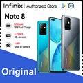 Infinix Note 8 глобальная Версия Мобильный телефон 6 + 128 ГБ 64-мегапиксельная четырехъядерная камера 5200 мА/ч, Батарея 18 Вт быстрый заряд спирально G80