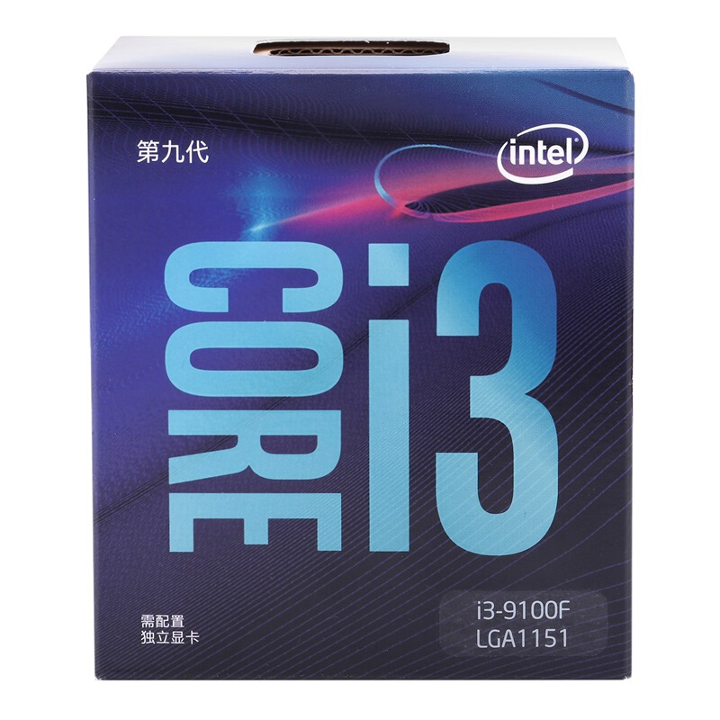 Intel Core i3-9100F Desktop Processor 4 Core Up to 4.2 GHz Without Processor Graphics LGA1151 300 Series 65W 100% Original image