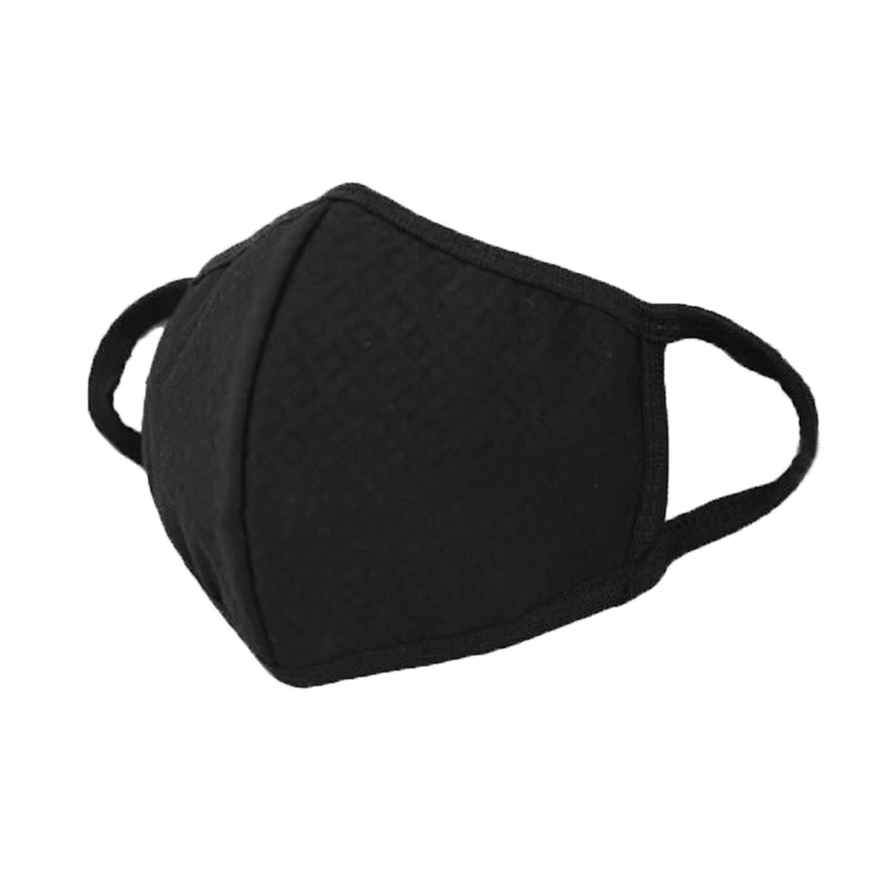 Solid Color Anti Dust Mouth Mask Windproof Mouth-muffle Activated Carbon Face Mask Cover Reusable Breathable Masks Unisex