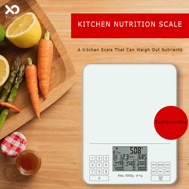 Kitchen Nutrition Scale Food Nutrition Ingredients Family Nutrition Kitchen Scale To Send Gifts Can Be Customized