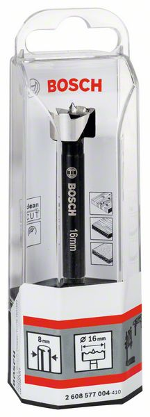 BOSCH-Drill Wood Milling, 16 16x90, D 8, Toothed-Edge