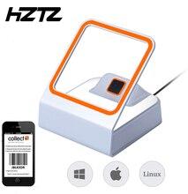Hztz Auto Qr Barcode Scanner 1D/2D Bar Code Reader Voor Mobiele Betaling Bar Code Reader Ondersteuning Windows Linux